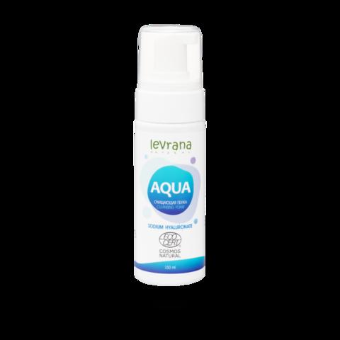 Levrana Пенка для умывания AQUA с гиалуроновой кислотой, 150 мл