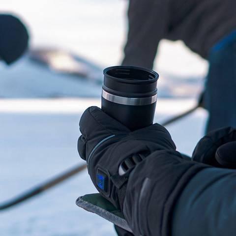 Картинка термостакан Stanley Adventure Mug 0,23L Голубая - 7
