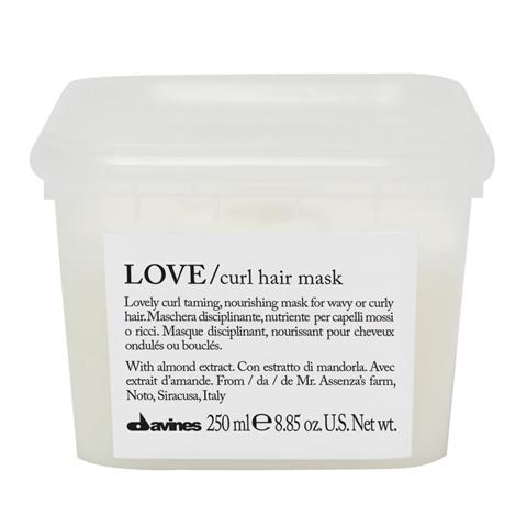 Davines Essential Haircare LOVE CURL: Маска для усиления завитка (Love Curl Hair Mask)