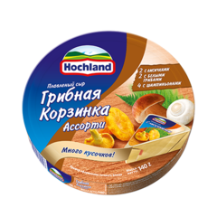 """Сыр плавленый """"Hochland"""" грибная корзинка, 140 г"""