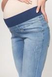 Джинсы для беременных (BOYFRIEND) 10188 синий