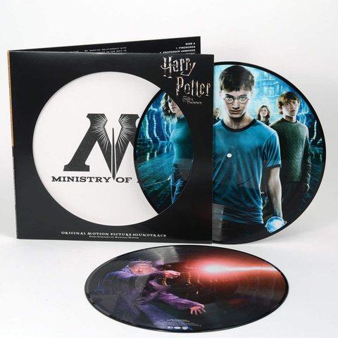 Комплект из двух виниловых пластинок. Гарри Поттер и Орден Феникса || Harry Potter And The Order Of The Phoenix