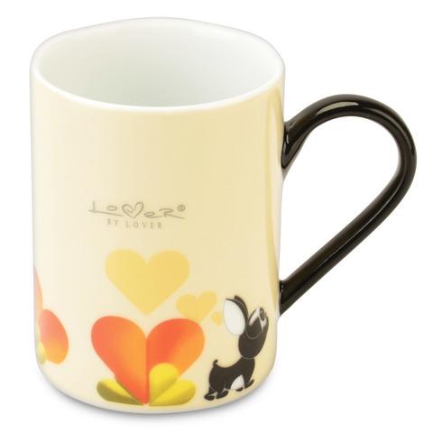 Набор 2шт кружек 0,3л (желтые) Lover by Lover