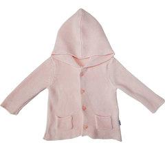 Папитто. Кофточка с капюшоном и карманами, розовый вид 1