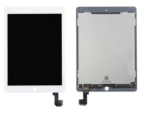 LCD Apple iPad Air2 /A1566/A1567 + Touch White Ref