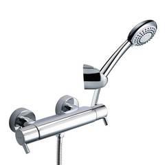 Смеситель термостатический для ванны с душевым комплектом DRAKO 333402AS