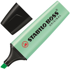 Текстовыделитель Stabilo Boss Original Pastel 70/116 зеленый (толщина линии 2-5 мм)