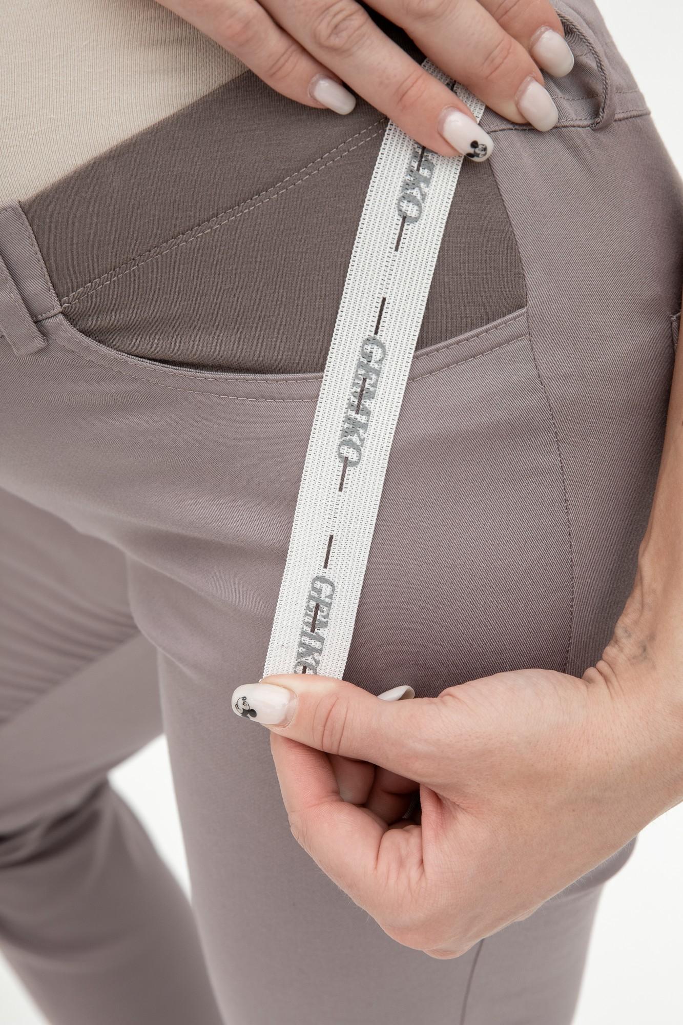Брюки для беременных 03028 темно-серый