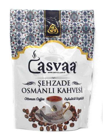 Турецкий кофе молотый с добавлением кэроба и кардамона, Casvaa, 200 г