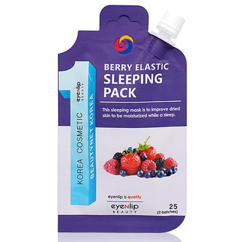 Ночная увлажняющая маска для сухой кожи Eyenlip с экстрактами ягод 25 гр