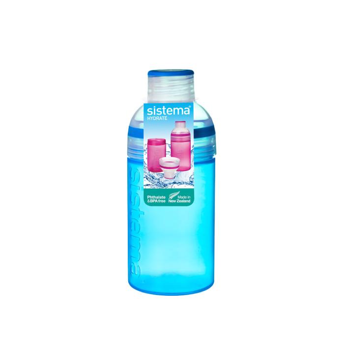 "Бутылка для воды Sistema ""Hydrate"" 580  мл, цвет Синий"