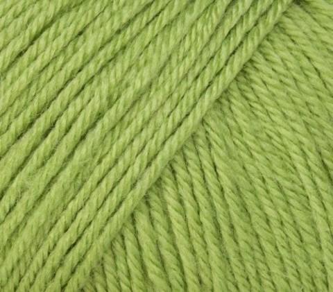 Пряжа Gazzal Baby Wool 838 зеленый