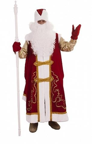 Костюм Дед Мороз в рубахе и штанах