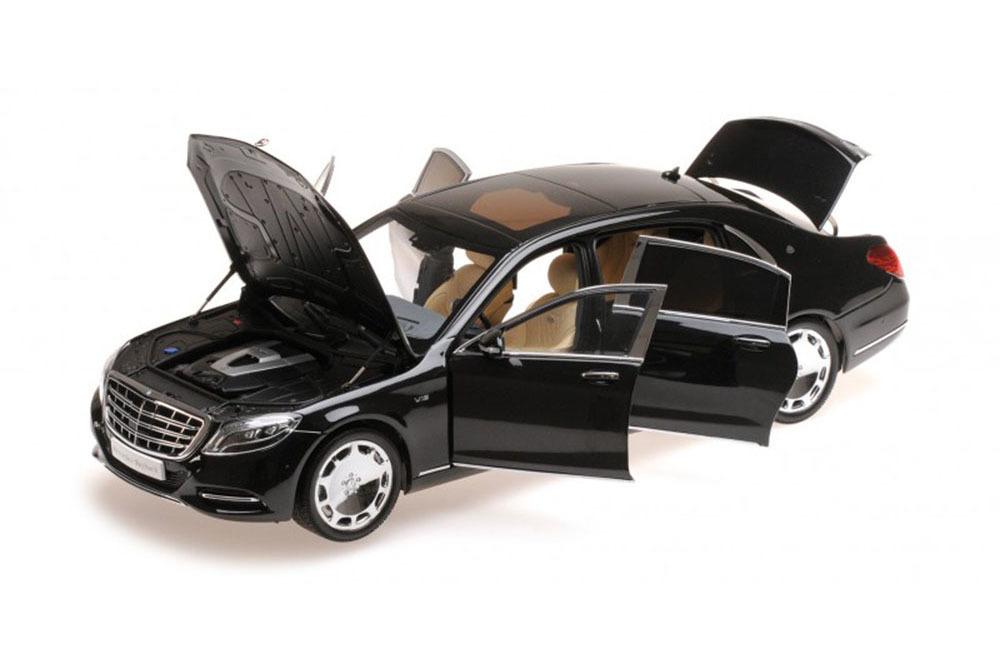 Коллекционная модель Mercedes-Benz S-CLASS MAYBACH 2016 BLACK