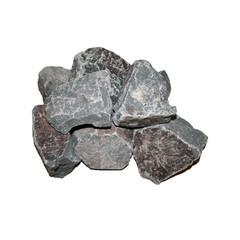 Камни для бани Порфирит, обвалованный (20кг, коробка, мытый)