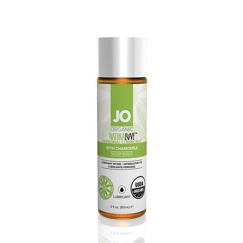 JO ORGANIC NATURALOVE, 60 ml Натуральный лубрикант на водной основе с ромашкой