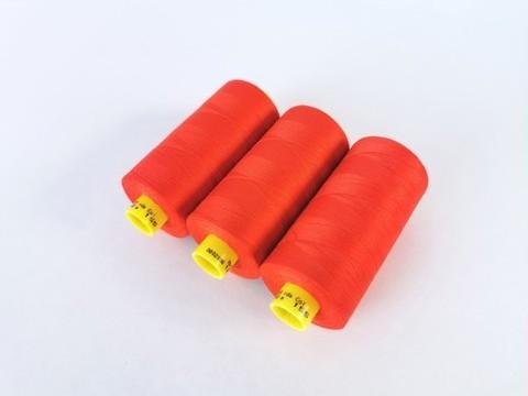 Нитки, Gutermann, MARA-120, ярко-красные (красно-морковные), 1000 м, шт