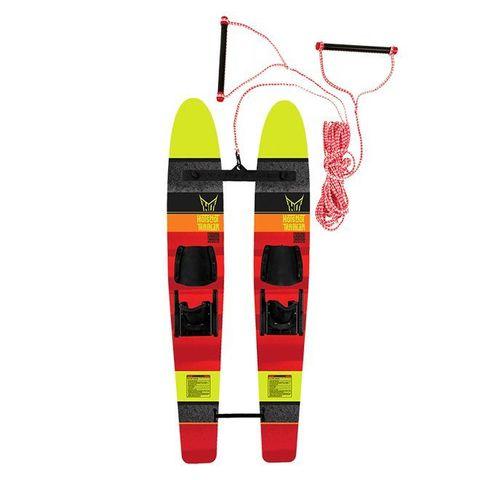 Детские лыжи с соединительной планкой Hot Shot Trainers