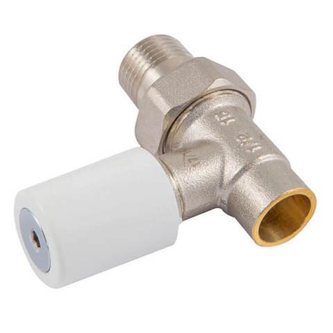 Ручной вентиль под пайку, прямой, DN 15 1/2 GZ * 15 mm