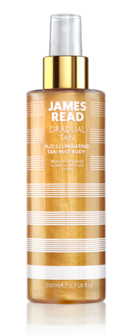 Спрей для тела James Read H2O Illuminating Body Mist