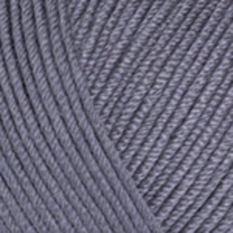 Пряжа Baby Cotton (Бэби Котон) Темно-серый. Артикул: 454