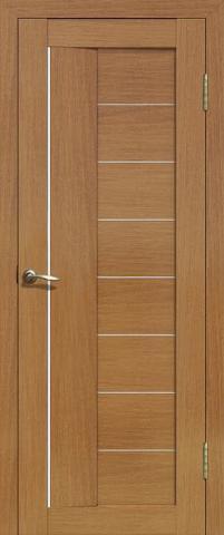Дверь La Stella 201, цвет дуб сантьяго, остекленная