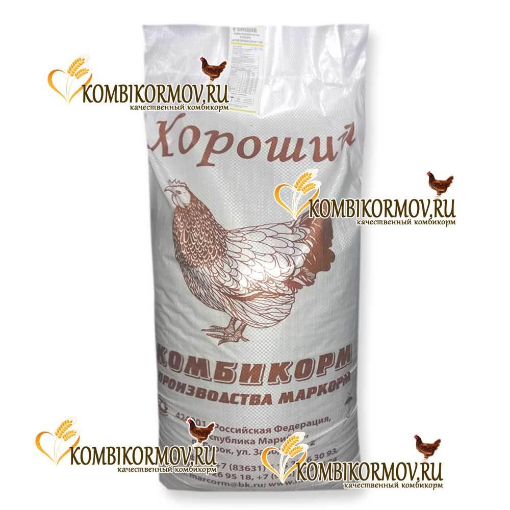 Комбикорм полнорац. для мясной птицы (Маркорм)