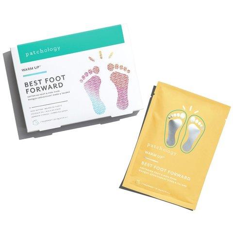 Patchology Набор питательных масок для ног Best Foot Forward Mask
