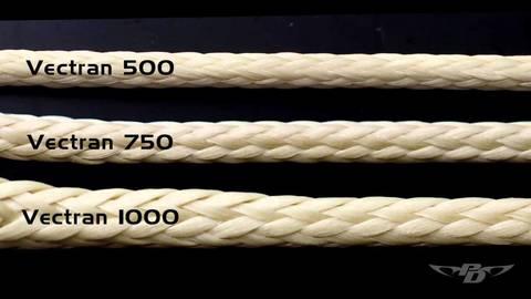 Стропа вектран (Vectran) 1000 - 1 метр