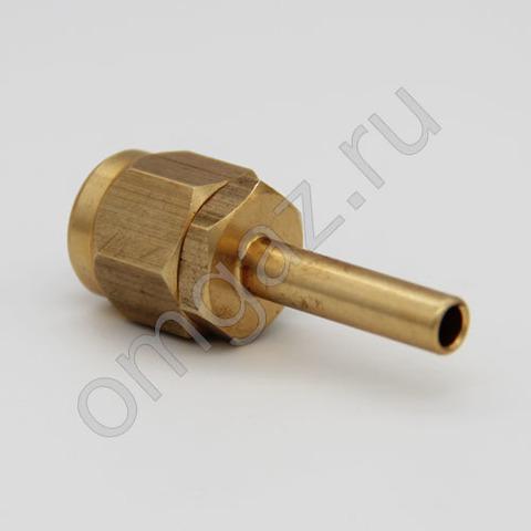 Прямой фитинг для термопластиковой трубки D6