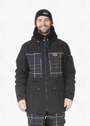Куртка Picture Organic 10К/10К VERMONT JKT A Black Tartan