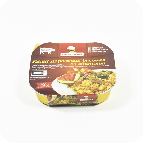 Каша дорожная рисовая со свининой ТМ