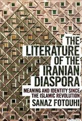 Literature of the Iranian Diaspora