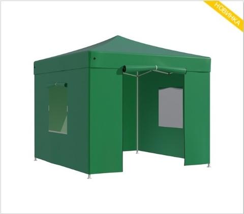 Тент-шатер быстросборный Helex 3x3х3м полиэстер зеленый