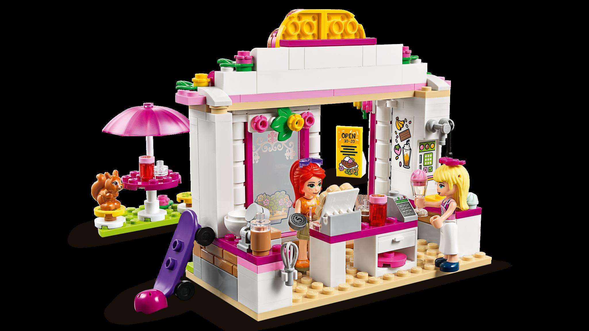 LEGO Friends 41426 Конструктор ЛЕГО Подружки Кафе в парке Хартлейк Сити