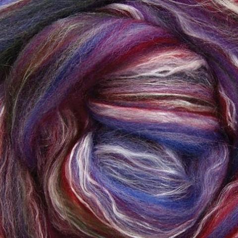 Бленд мериносовая шерсть с шелком