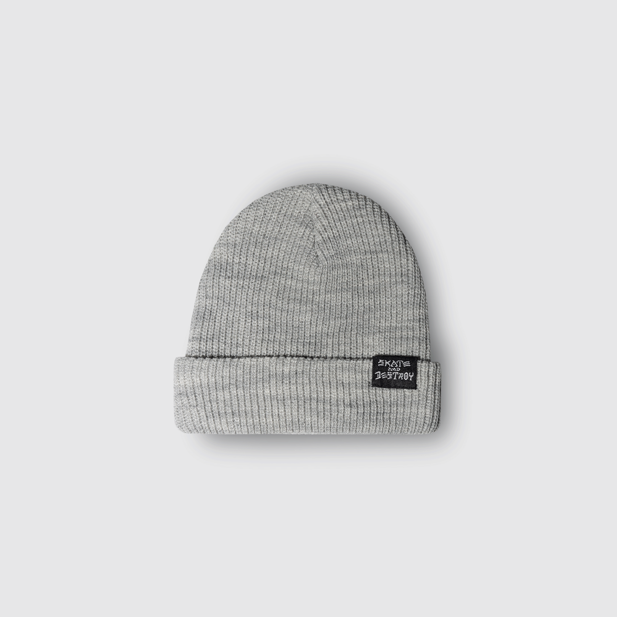 Шапка Thrasher Skate and Destroy Knit Beanie Grey