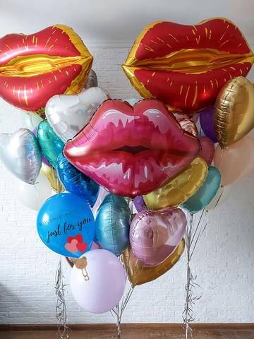 Букет из фольгированных шаров