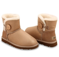UGG Bailey Button Mini Metallic Soft Gold