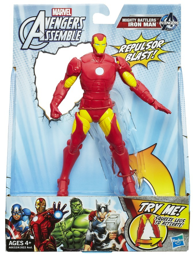 Avengers Assemble Mighty Battlers Series 02