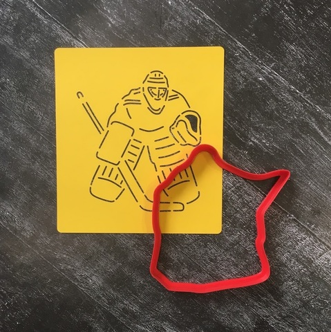 Хоккеист Вратарь №1