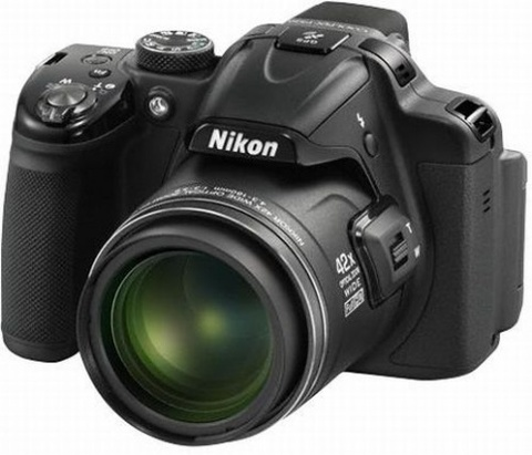 Фотоаппарат цифровой NIKON Coolpix P520 black