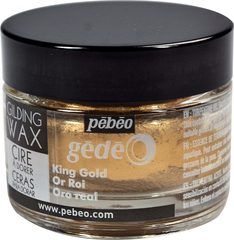 Воск (вакса) для золочения Pebeo Gedeo 30 мл Цвет Королевское золото