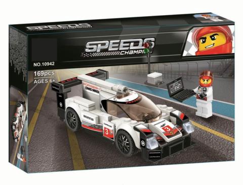 Конструктор Техник 10942 Porsche 919 Hybrid,169 дет.