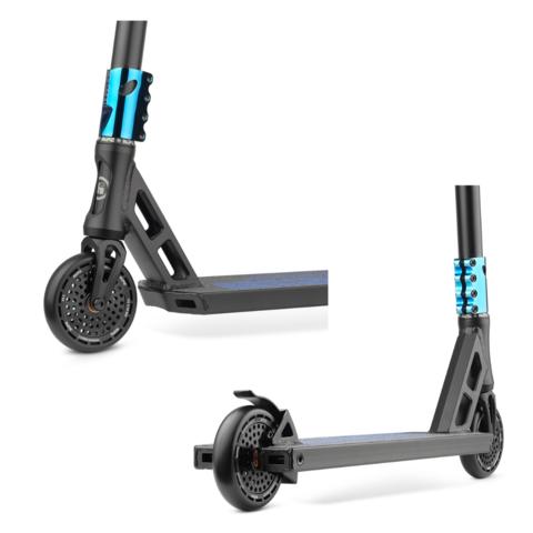 Трюковой самокат Hipe XL black/neo-blue 2021