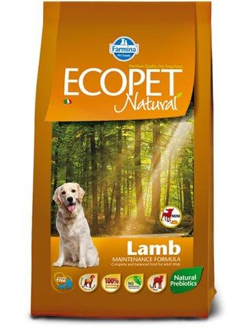 Farmina Ecopet Natural Lamb Mini Сухой корм для взрослых собак мелких пород с ягненком