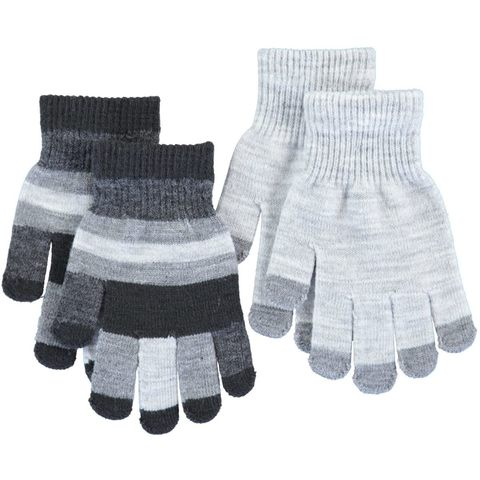 Детские перчатки Molo Kei Grey melange