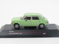 Zastava 1100 green 1977 IST095 IST Models 1:43
