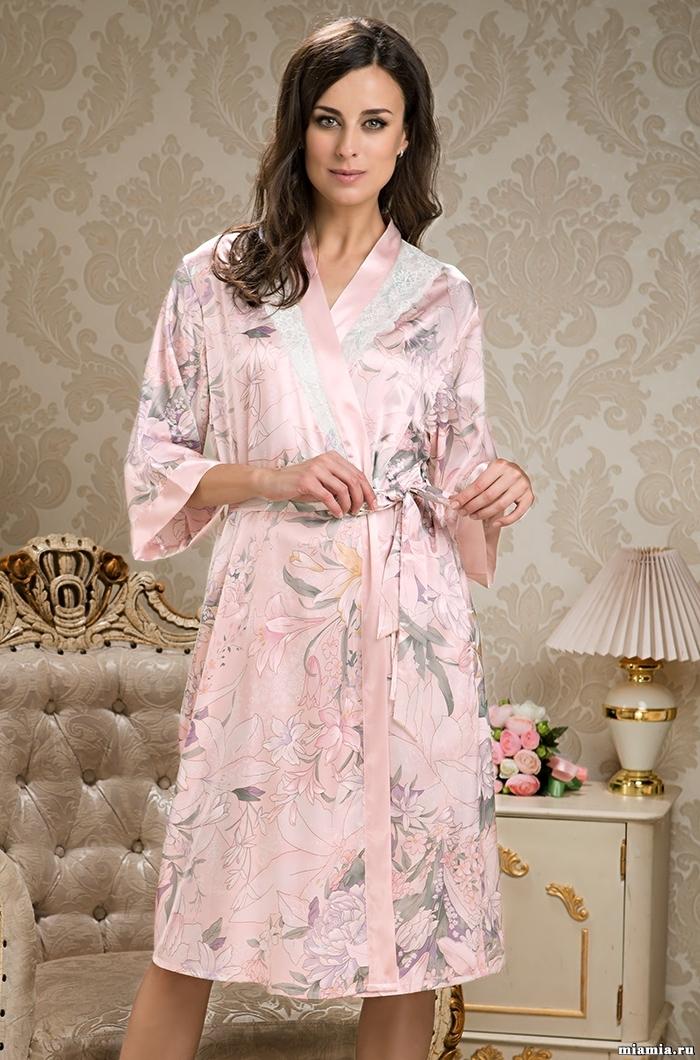 Халаты женские Женский шелковый халат  MIA-AMORE  EDEM  Эдем  5959 5959.jpg