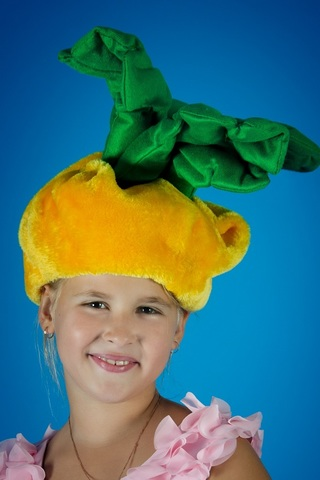 Карнавальная шапочка Репка